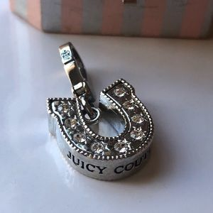 Juicy Couture Jewelry - Juicy Couture Ailver tone Horseshoe